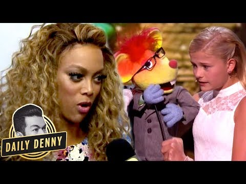 'America's Got Talent' Goes LIVE! What You Didnt See With Host Tyra Banks | Daily Denny