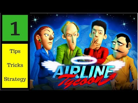 Airline Tycoon ll Gameplay + Strategy + Tips ll Falcon Lines ll Episode 1