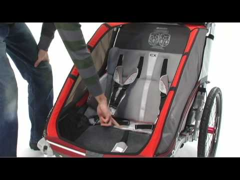 Cx 1 And 2 Child Carrier Chariot Carriers X Country Series Youtube