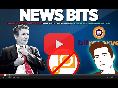 News Bits: The Bitcoin Foundation is broke