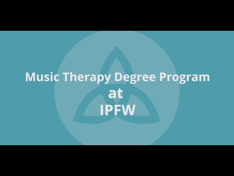 IPFW music therapy degree program