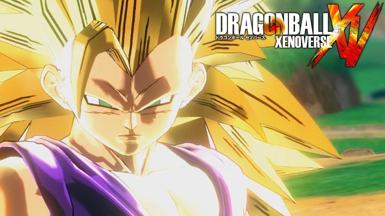 Super saiyan 3 teen gohan gameplay dragon ball xenoverse mod youtube thecheapjerseys Image collections