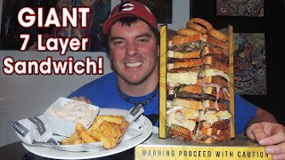 "Mangetout's Undefeated Sandwich Eating ""gigantwich"" Challenge!!"