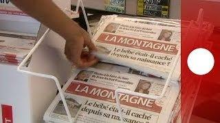 La France sous le choc après la découverte d'un bébé dissimulé dans un coffre