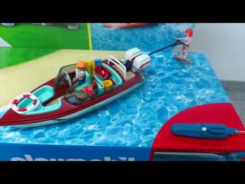 Playmobil Neuheit 9428 Motorboot Mit Unterwassermotor By