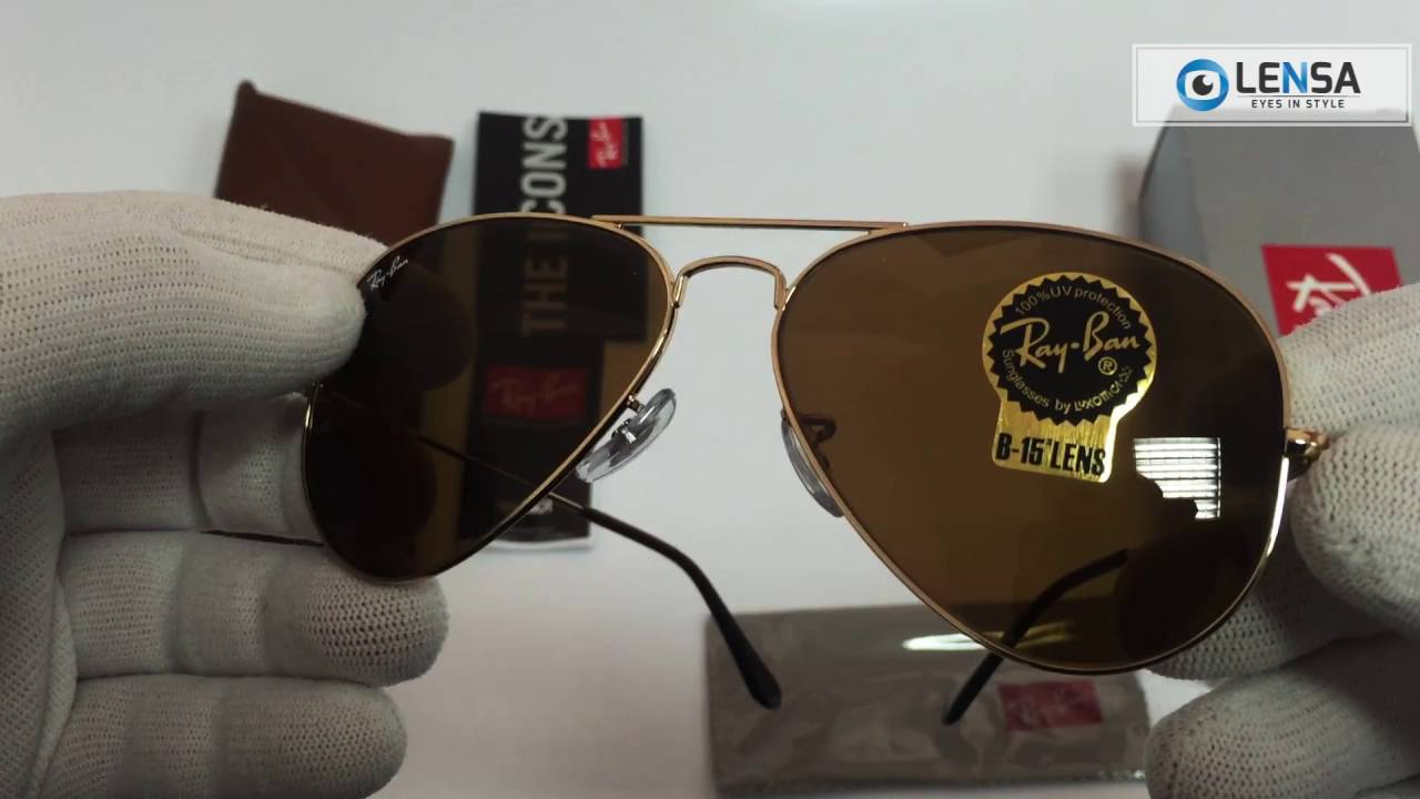 Ochelari de soare Aviator Large Metal Ray-Ban RB3025 001 33 - LENSA ... b8ad221ea3