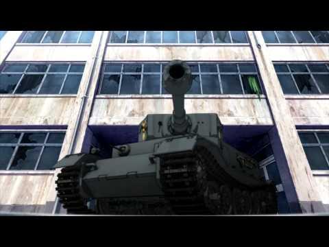 Girls und Panzer - Tiger (P) last stand !