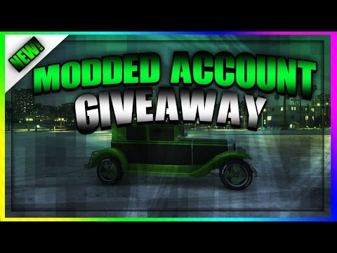 GTA 5 ONLINE NEW MODDED ACCOUNT GIVEAWAY FOR PS4 OR XBOX ONE UP TO U YouTube
