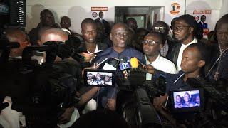 Urgent: direct chez Idrissa Seck sur la déclaration de Boune Abdalah Dione