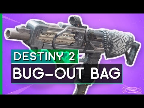 Destiny 2 // BUG-OUT BAG Curated Roll from GAMBIT PRIME!
