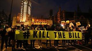 video: Sarah Everard vigil: More than half of public support Met Police handling of event, survey reveals