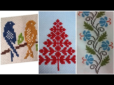 Beautiful cross stitch hand embroidery unique patterns design for you