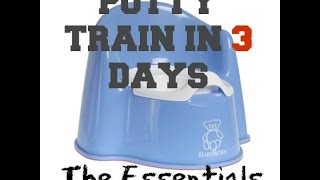 POTTY TRAIN IN 3 DAYS- THE ESSENTIALS FOR SUCCESS