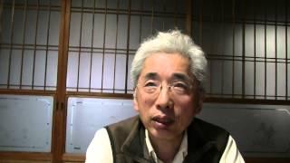 「高橋呑舟先生と初遭遇してアートテン設置」須賀徹20140425