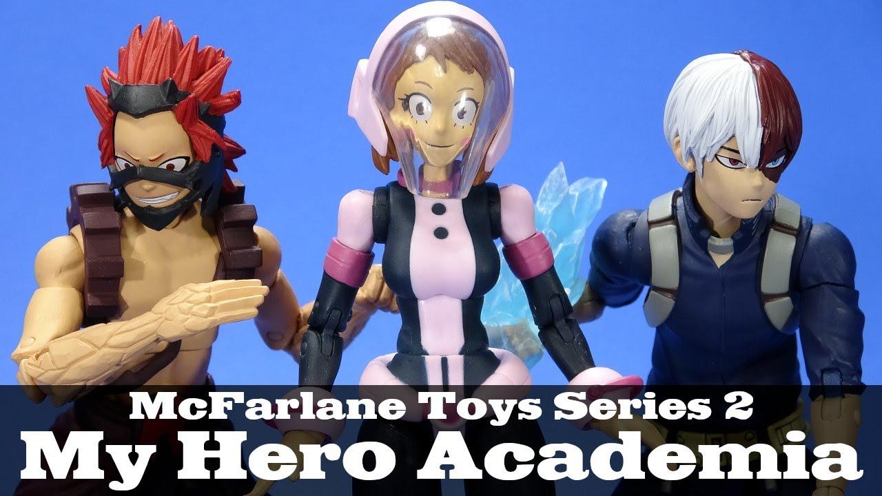 "My Hero Academia Eijiro Kirishima 7/"" Figure McFarlane Toys Official Anime"