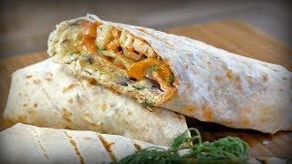 Рецепт восхитительной овощной шаурмы (шавермы)