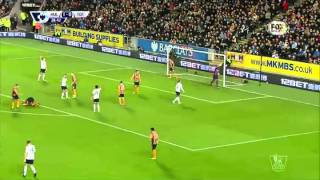 Video Gol Pertandingan Hull City vs Tottenham Hotspur