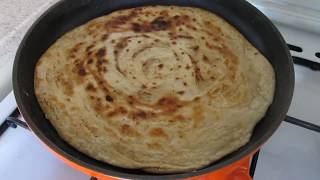 Рецепт турецкого катмера с тахином. Слоеное тесто с тахиновой пастой.