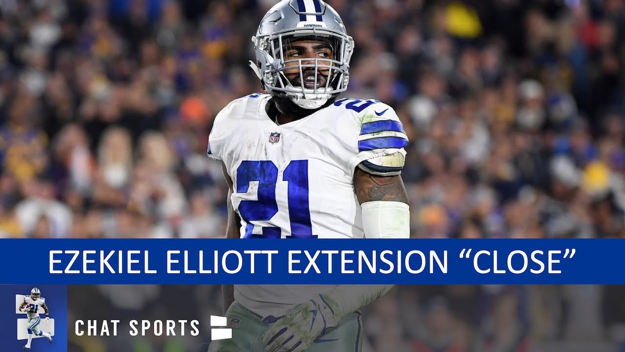 Ezekiel Elliott returns to Dallas with deal 'very close'
