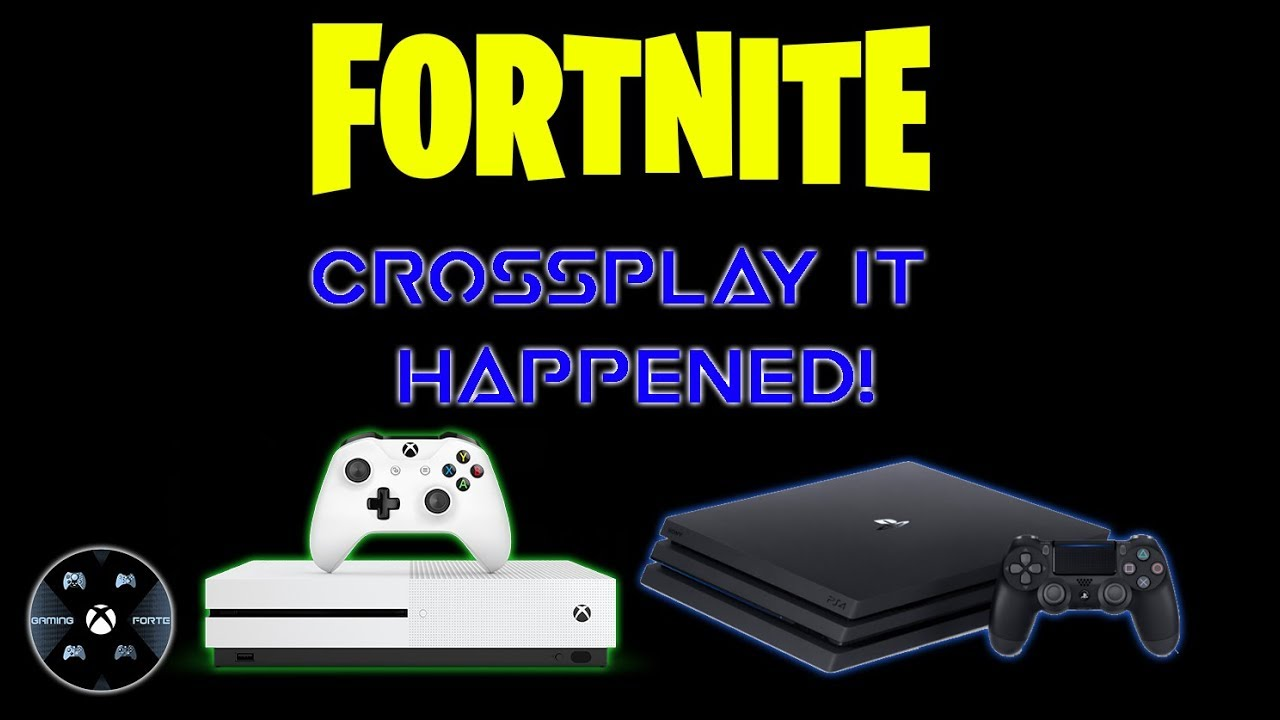 Epic Games turn on Crossplay in Fortnite between Xbox One ...