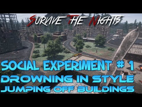 Survive The Nights | Social Experiment #1 | STN Game Play
