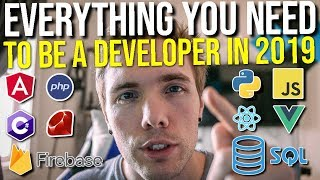 EVERYTHING YOU NEED TO KNOW TO BE A WEB DEVELOPER IN 2019 #grindreel