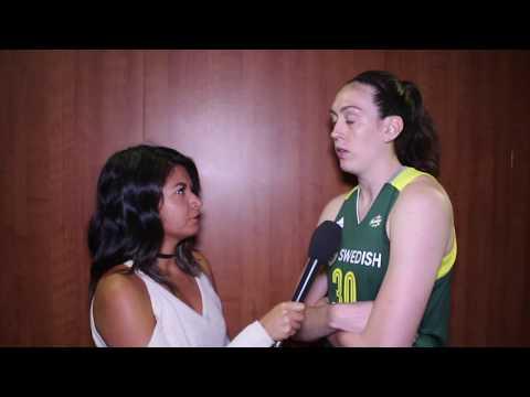 Breanna Stewart Talks WNBA All-Star, Seattle and More