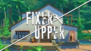 JUNGLE BUNGALOW // The Sims 4: Fixer Upper - Home Renovation