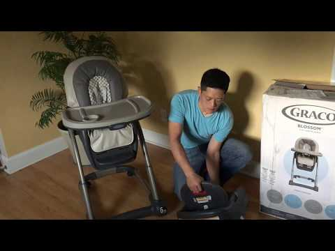 Graco Blossom 4-in-1 Seating System – Unboxing & Assembly