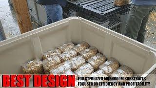 Best Mushroom Substrate Sterilizer Based On Cost, Profitability, And Farm Efficiency: DIY Steam Tank
