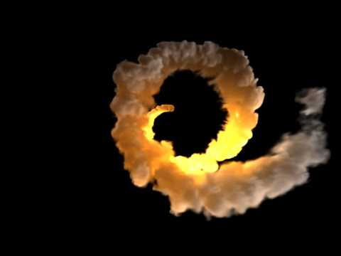3D Fume FX Fire & Smoke Elements Animation