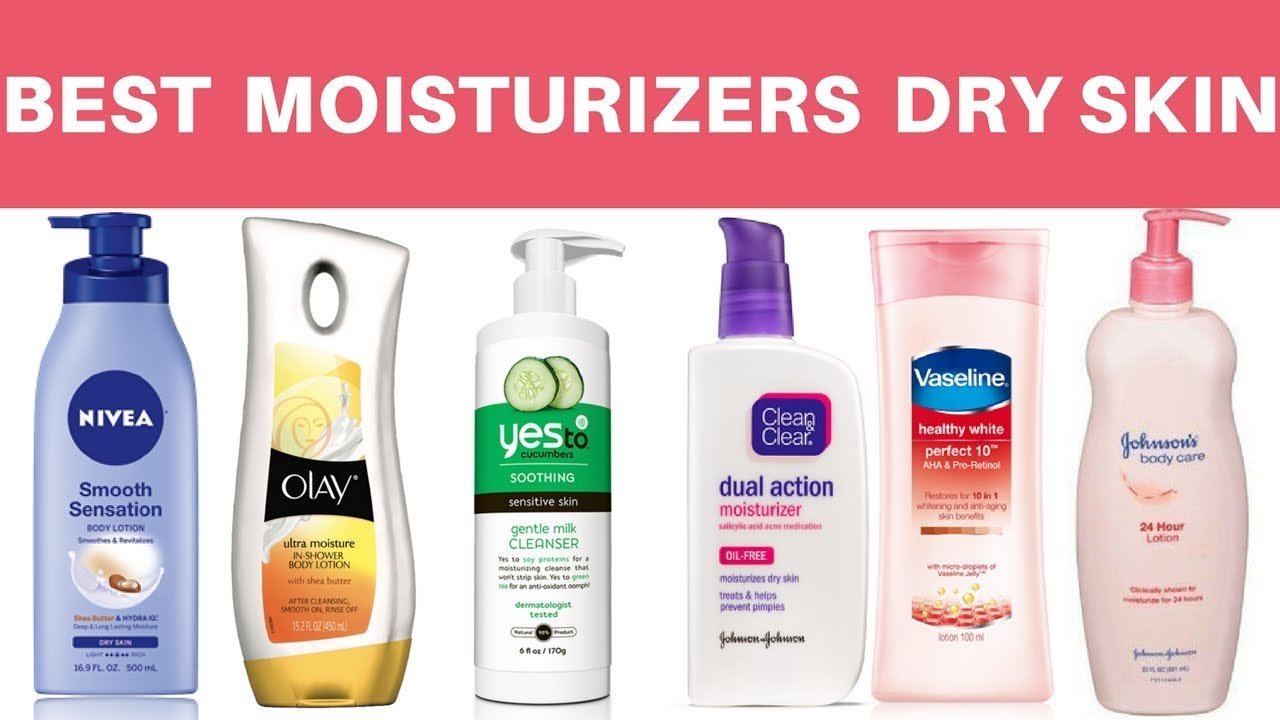 10 Best Drugstore Moisturizers For Dry Skin – 2019 Update (With Reviews)