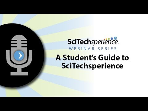 A Student's Guide to SciTechsperience