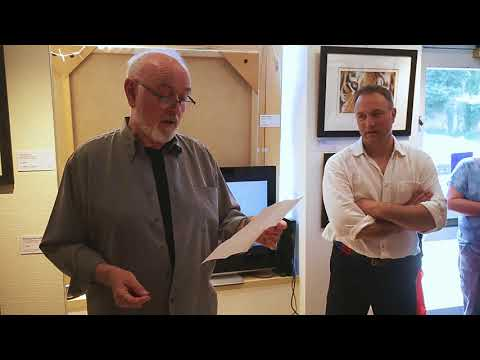Peter Egan  Performing 'Just a Dog' at the 'Wild at HeART' Exhibition