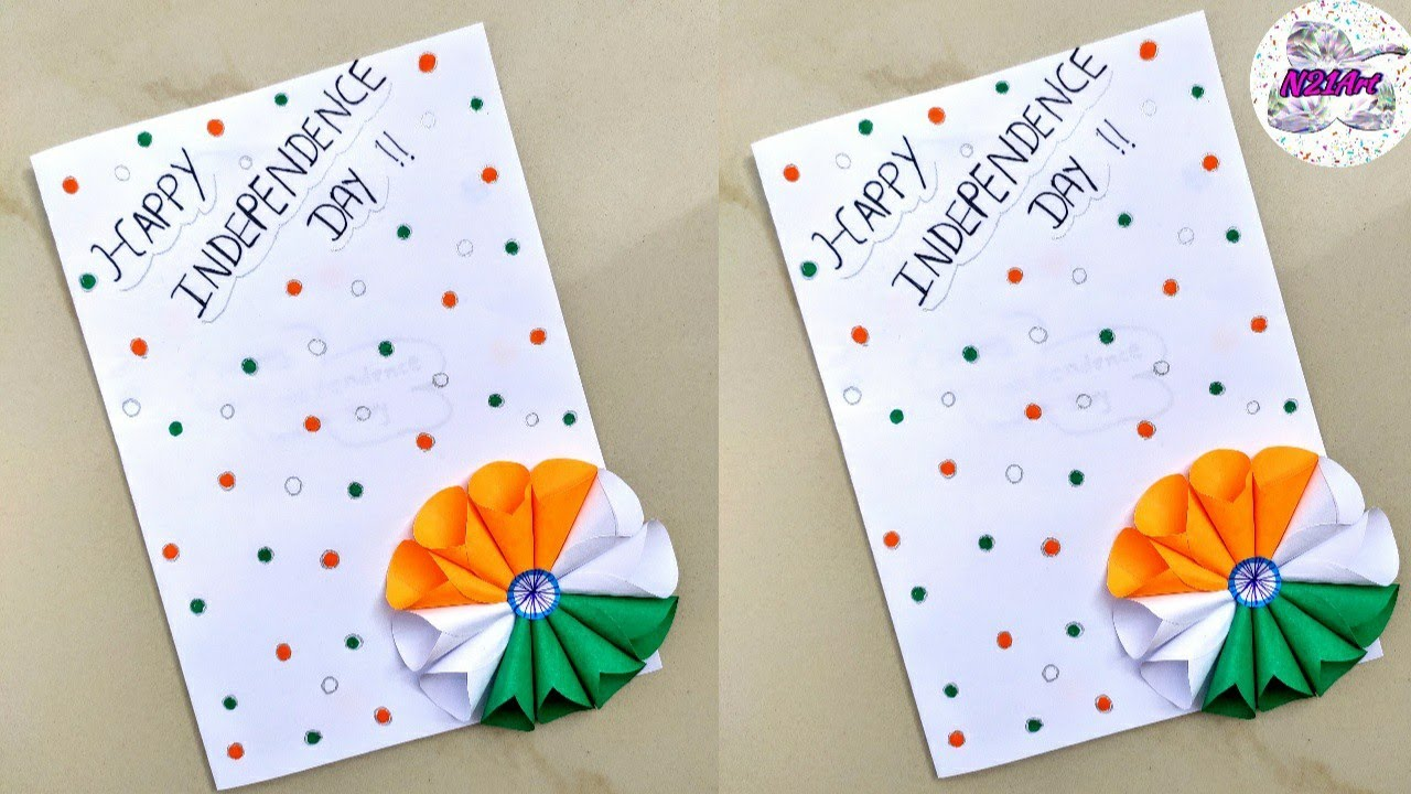 greeting card idea for independence day  diy republic