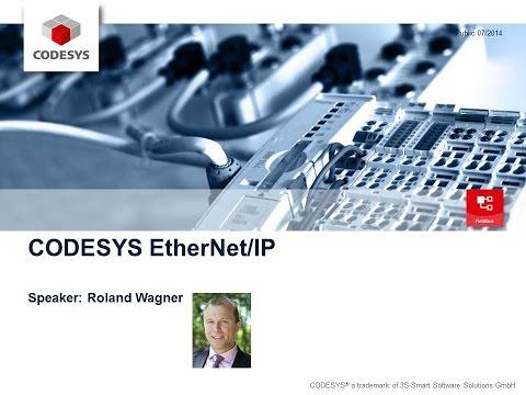 CODESYS Webinar EtherNet/IP
