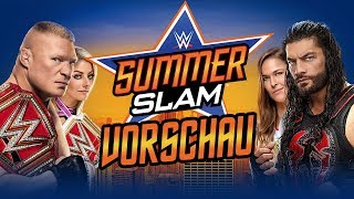 WWE Summerslam 2018 VORSCHAU / PREVIEW