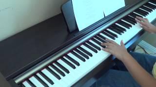 Guy Sebastian ft Lupe Fiasco - Battle Scars instrumental piano version and lyrics by Betty Nguyen