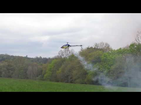 raptor 50 nitro fly barles