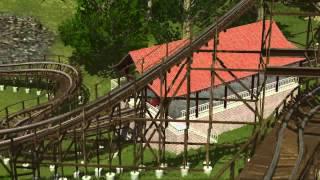 NoLimits 2 Roller Coaster Simulation Demo 01 Forest Hills Park