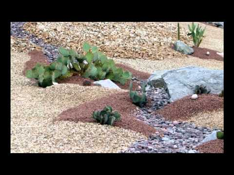 Garden Ideas] River rock garden ideas - YouTube