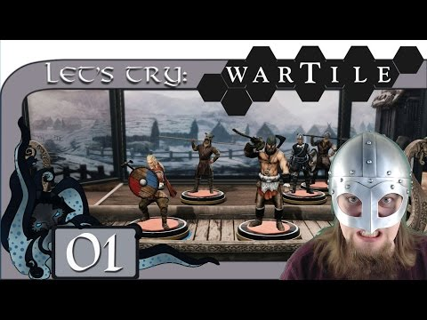 Skull of Hel - Let's Try: Wartile (Viking Tabletop Strategy) #01 - Wartile Gameplay (Early Access)