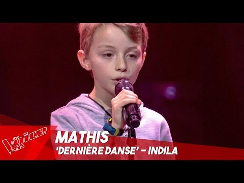 Mathis - 'Dernière danse' | Blind Auditions | The Voice Kids Belgique