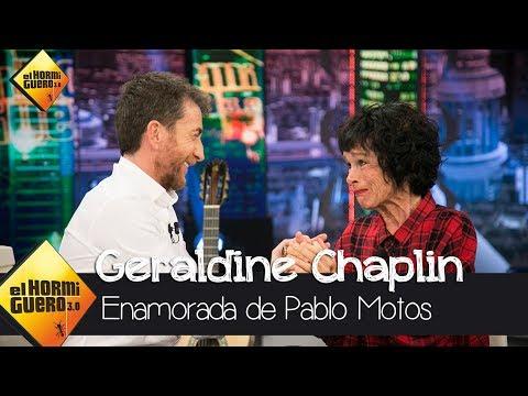 Geraldine Chaplin, a Pablo: