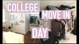 OFFICIAL COLLEGE HOUSE MOVE IN & FIRST GROCERY HAUL