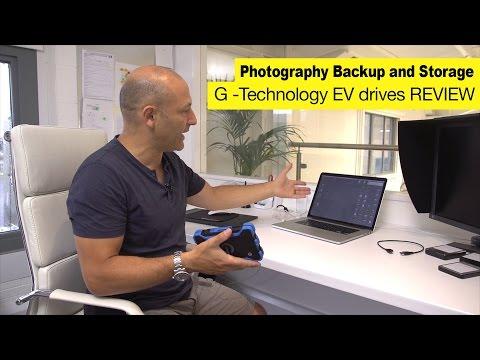 Karl Taylor reviews G-technology EV drives and dock.