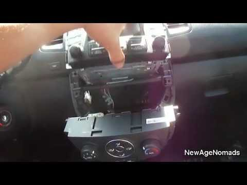 How To Remove Stock Stereo From 2012 Kia Soul : NewAgeNomads  YouTube