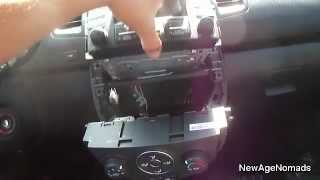 How To Remove Stock Stereo From 2012 Kia Soul : NewAgeNomads