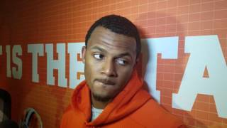 TigerNet.com - Deshaun Watson post Pittsburgh