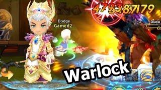 LINE Dragonica Mobile รีวิว อาชีพ Warlock และ Skill